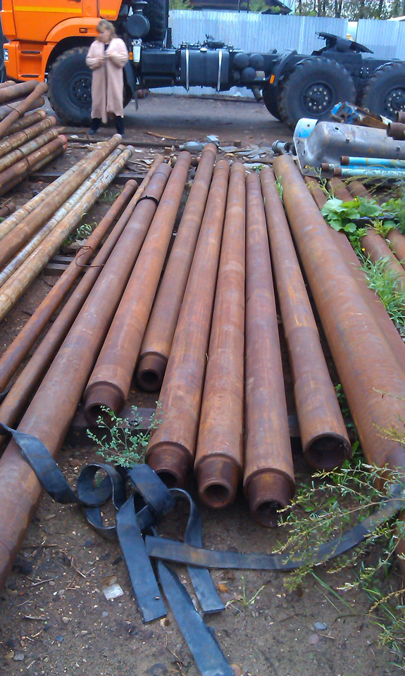 Drilling pipe, DC 178