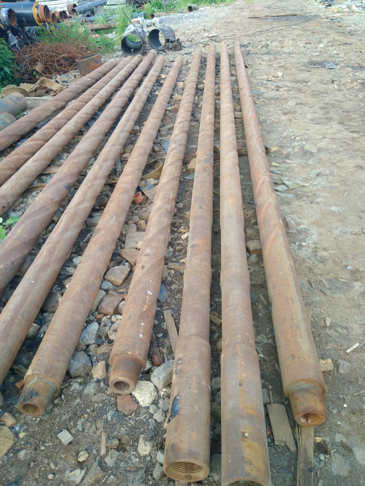 Drilling pipe, balanced drill collar 165