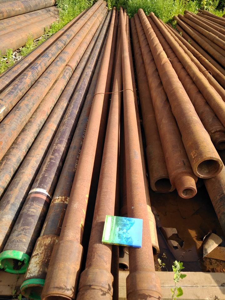Steel drilling pipe 127