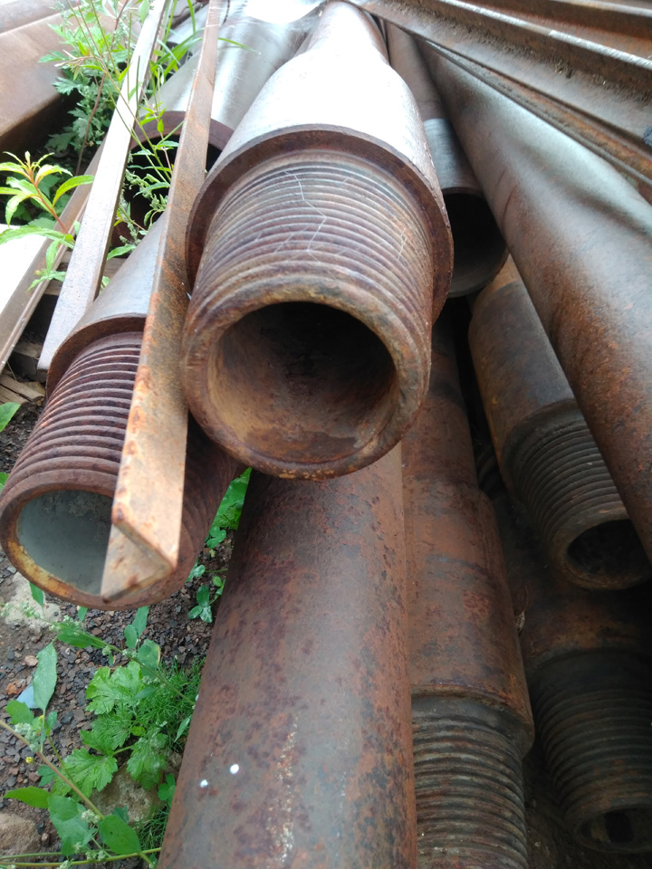 Steel drilling pipe 89